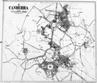 Picture relating to Canberra - titled 'Photo of map of the City of Canberra'