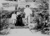 Picture relating to Marlborough - titled 'Three children in fancy dress, Marlborough, Queensland, 1900-1910'