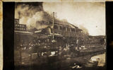 Picture of / about 'Blackall' Queensland - Barcoo Hotel Fire, Blackall, 1923