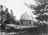 Picture relating to Mount Stromlo Observatory - titled 'Observatory Dome, Mount Stromlo Observatory.'