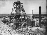 Picture relating to Bendigo - titled 'Bendigo Mines.  (Sandhurst),  Bendigo, Victoria.'