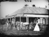 Picture relating to Cleveland - titled 'Brighton Family Boarding House at Cleveland, 1871'