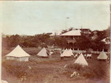 Picture relating to Thursday Island - titled 'Thursday Island army barracks and camp '