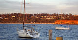 Picture relating to Mornington - titled 'Mornington Bay and Boats'