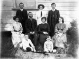 Picture relating to Queensland - titled 'William Bates and his family.'