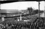 Picture relating to Atherton - titled 'ANZAC Day celebrations, Atherton, 1944'