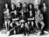 Picture relating to Longreach - titled 'Longreach Junior All Blacks Rugby League Football Team, Premiers in 1923'
