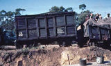 Picture relating to Mount Colah - titled 'Mount Colah goods train derailment'