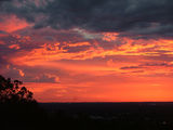 Picture relating to Chichester Range - titled 'Picturesque Sunset Kelmscott WA'