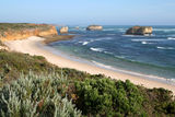 Picture relating to Great Ocean Road - titled 'Crofts Bay on the Great Ocean Road'
