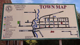 Picture relating to Werris Creek - titled 'Werris Creek Town Map'
