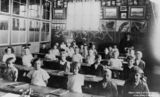 Picture of / about 'Rosewood' Queensland - Children inside a classroom at the Rosewood State School, Rosewood, Queensland, ca.1929