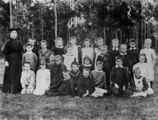 Picture relating to Enoggera - titled 'Class photograph, Enoggera State School, Brisbane, Queensland, ca. 1904'