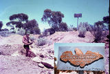 Picture relating to Larkinville - titled 'Larkinville, panning for gold on the site where the Golden Eagle was found - 1969'