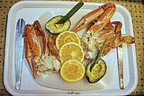 Picture relating to Brisbane Water - titled 'Bue Swimmer Crabs from Brisbane Water. photo art.'