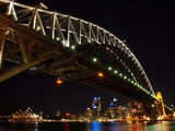 Picture relating to Sydney Harbour - titled 'Sydney Harbour By Night 4'