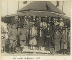 Picture relating to Rockhampton - titled 'Sir John and Lady Goodwin at a civic reception at Rockhampton, Queensland, 1928'