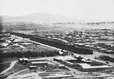 Picture of / about 'Kingston' the Australian Capital Territory - Ariel view over Kingston factory area, looking towards Red Hill.