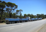 Picture relating to Mount Barker - titled 'Rear View with 126 Wheels'