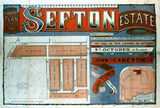 Picture relating to Clayfield - titled 'Plan of Sefton Estate, Clayfield, Brisbane'