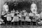 Picture relating to Woolloongabba - titled 'Kindergarten at Woolloongabba, Brisbane, 1911'
