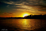 Picture relating to Lake Macquarie - titled ' Heavens Sundown - Sunset at Lake Macquarie'