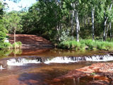 Picture relating to Isabella Falls - titled 'Isabella Falls, Lakefield National Park QLD'