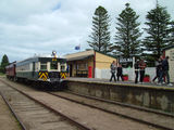 Picture relating to Goolwa - titled 'Number 60 Train at the Goolwa Railway Station'