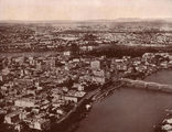 Picture relating to Brisbane - titled 'Aerial view of Brisbane and the river, ca. 1929'