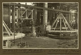 Picture relating to Mount Isa - titled 'Drossing plant and casting machine in the smelter, Mt. Isa Mines, 1932'