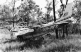Picture relating to Queensland - titled 'Crash landing for a Cessna 206 at Pineapple Creek, North Queensland'