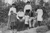 Picture relating to Nambour - titled 'Portrait of the Tambo family at Nambour, Queensland, 1906'