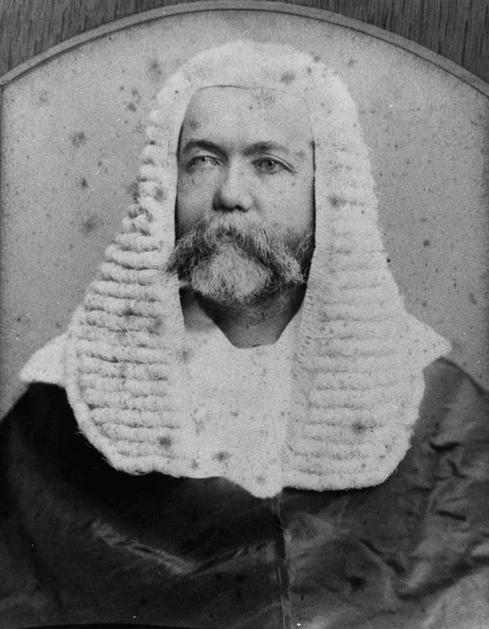 Picture of / about 'Brisbane' Queensland - Portrait of the Honorable Patrick Real