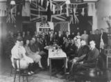 Picture relating to Winton - titled 'Guests at the Mother & Son Dinner at the Capital Cafe in Winton, 1940'