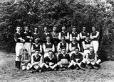 Picture relating to Acton - titled 'Acton Australian Rules Football team, Premiers 1927.'
