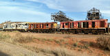 Picture relating to Broken Hill - titled 'Derelict Locomotives Broken Hill'