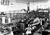Picture relating to Kingston - titled 'Hardware department of JB Young's Kingston store'
