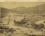Picture relating to Cooktown - titled 'Elevated view of Cooktown, ca. 1887'