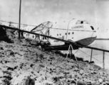 Picture relating to Queensland - titled 'Empire Flying Boat, Coorong, a Short S.23 operated by QEA, 1938'