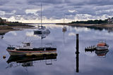 Picture relating to Ulverstone - titled 'Ulverstone, Leven River, Tasmania'