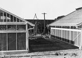 Picture relating to Acton - titled 'CSIR Insectarium and Administration Building, Clunies Ross Street, Acton, Black Mountain, under construction.'