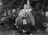 Picture relating to Queensland - titled 'Jane Bell with her children, Lyla, Stuart and Gladys'