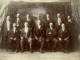 Picture relating to Bowen - titled 'Council of the Society of St. George, Bowen, 1921'